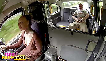 Female Fake Taxi The broken dick anal test fuck