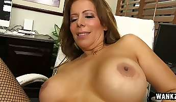 Sexy Nicky Ferrari is a cougar and she never says no to some fresh meat