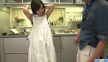 Mayu Kawai petite Asian fucked in rough manners  More at javhdnet